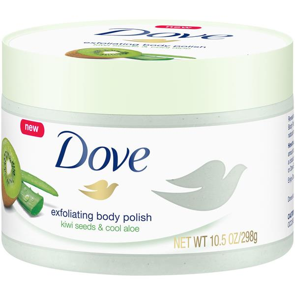 Dove Exfoliating Body Polish Kiwi Aloe Body Scrub Hy Vee Aisles Online Grocery Shopping