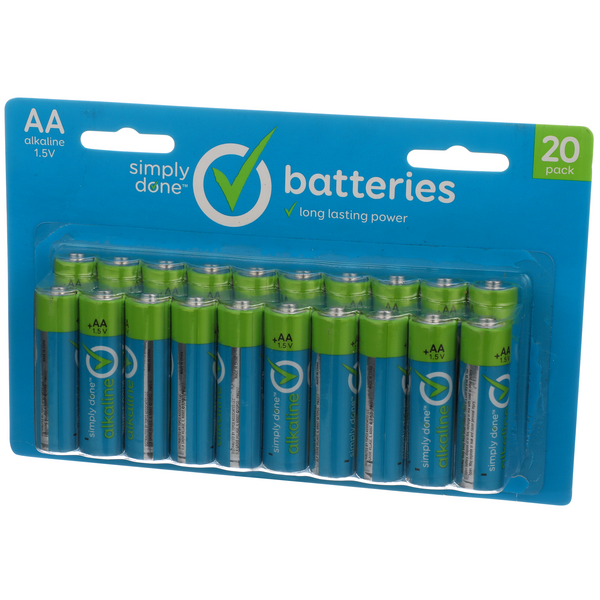 Simply Done AA Batteries