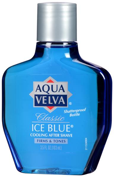 Aqua Velva Classic Ice Blue Cooling After Shave
