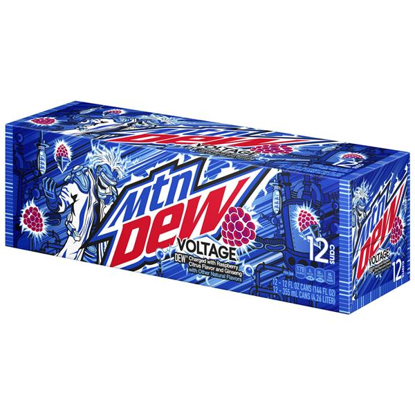 Mountain Dew Voltage 12 Pack