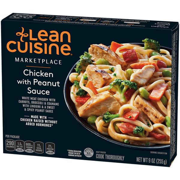 LEAN CUISINE MARKETPLACE Chicken with Peanut Sauce 9 oz. Box