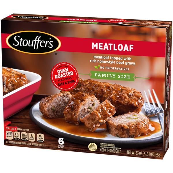Stouffer&#39s Family Size Meatloaf