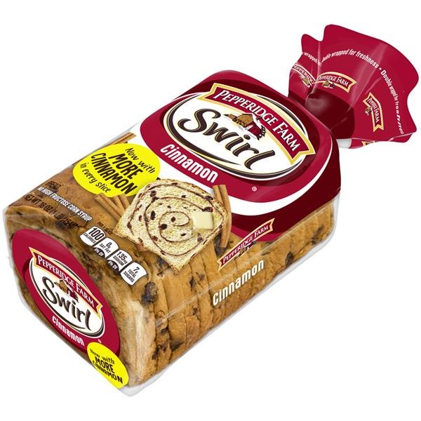 Pepperidge Farm Swirl Cinnamon Bread Hy Vee Aisles Online Grocery Shopping