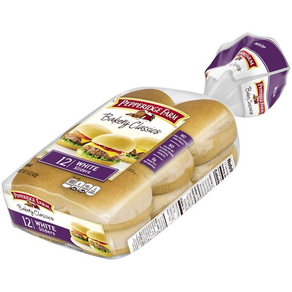 Pepperidge Farm Bakery Classics Sliders White Buns