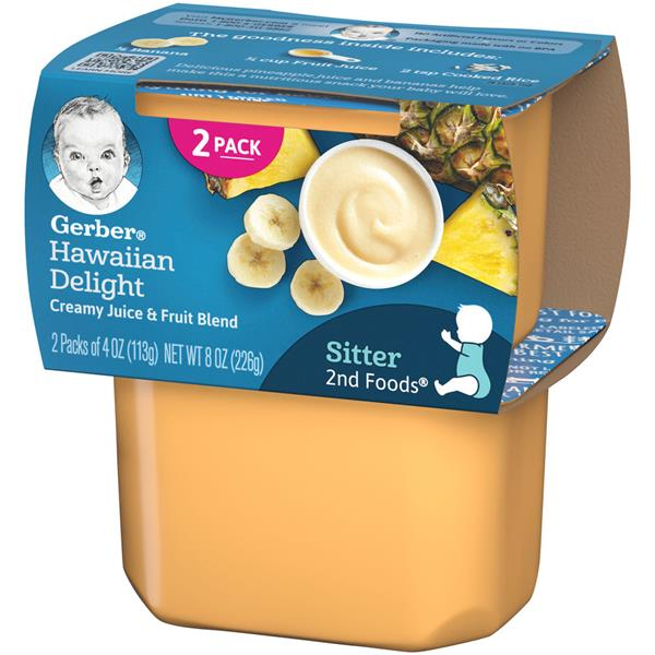 Gerber 2nd Foods Hawaiian Delight 2 Pack