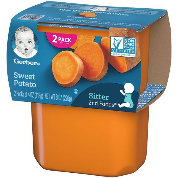 Gerber 2nd Foods Sweet Potatoes 2 Pack