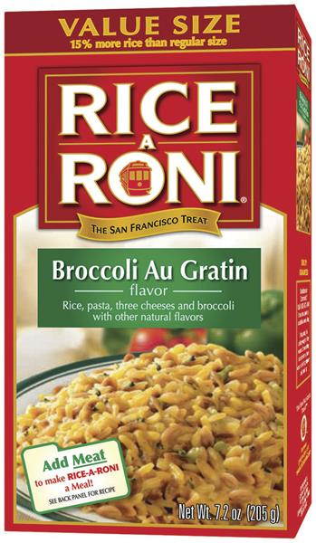 Rice-A-Roni Cheddar Broccoli Flavor