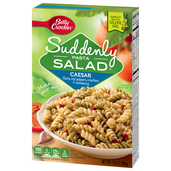 Betty Crocker Suddenly Pasta Salad Caesar