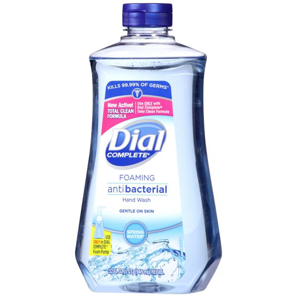 Dial Complete Spring Water Foaming Antibacterial Hand Wash