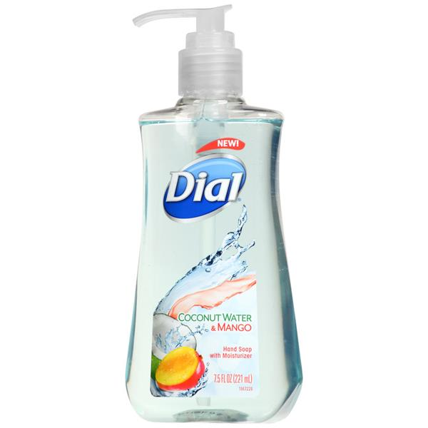 Dial Coconut Water & Mango Hand Soap with Moisturizer