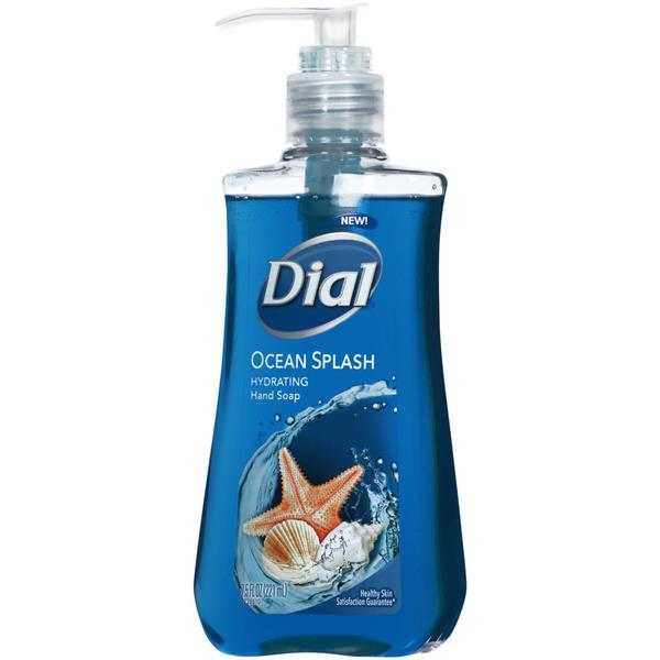 Dial Ocean Splash Hydrating Hand Soap 7.5 fl. oz. Pump