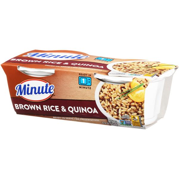 Minute Brown Rice & Quinoa 2Ct
