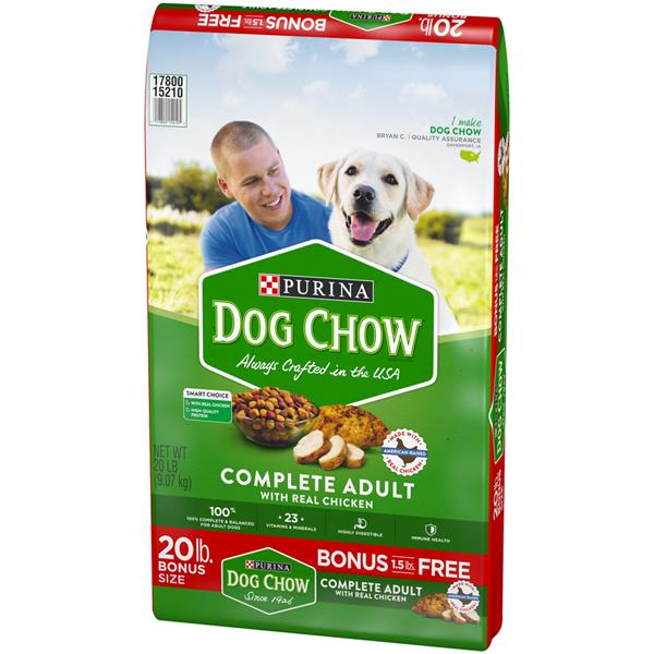 Purina Dog Chow Complete Adult Dog Food Bonus Size