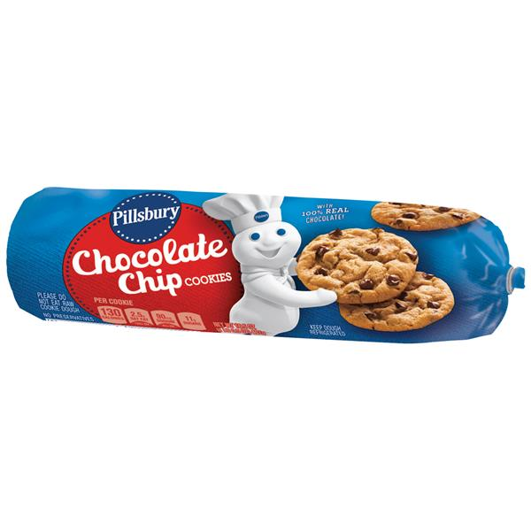 Pillsbury Chocolate Chip Cookies Hy Vee Aisles Online Grocery Shopping