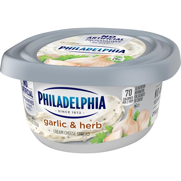 Philadelphia Garlic and Herb Cream Cheese Spread
