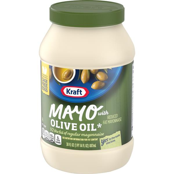 Kraft Olive Oil Mayo Reduced Fat Mayonnaise