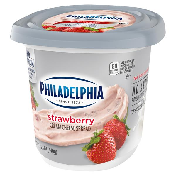 Philadelphia Strawberry Cream Cheese Spread