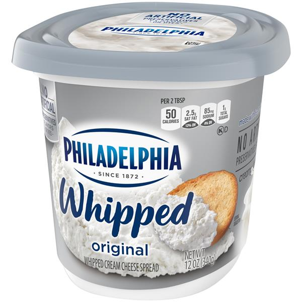Philadelphia Whipped Original Cream Cheese Spread