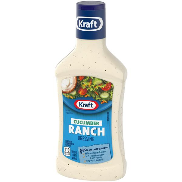 Kraft Cucumber Ranch Dressing