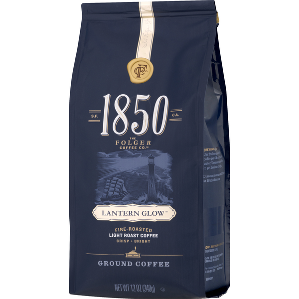 Folgers 1850 Lantern Glow Ground Coffee