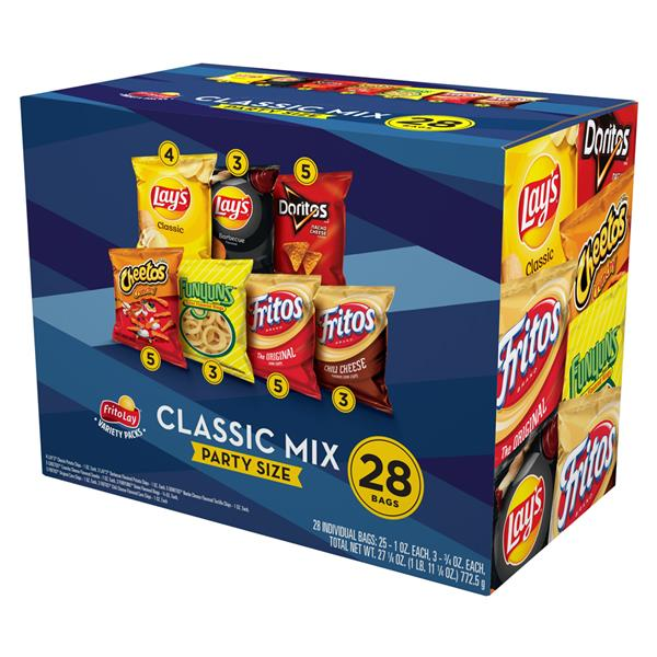Frito-Lay Party Mix Variety Pack 28 Ct