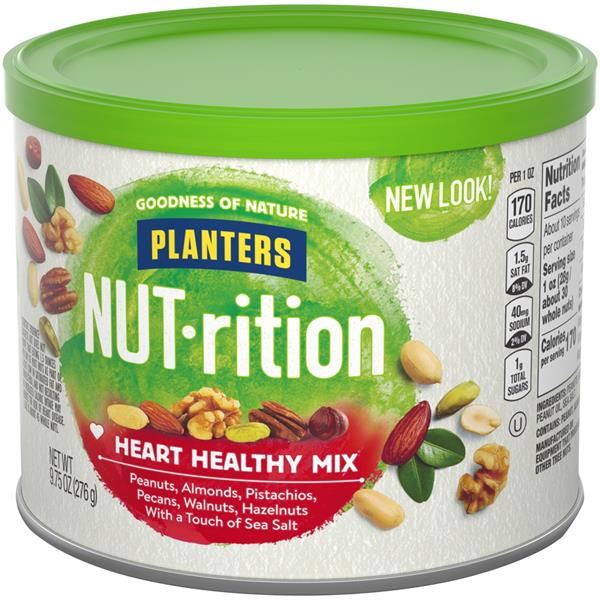 Planters Heart Healthy Mix Nut-Rition Mix