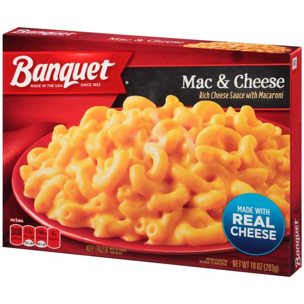Banquet Mac Cheese Hy Vee Aisles Online Grocery Shopping