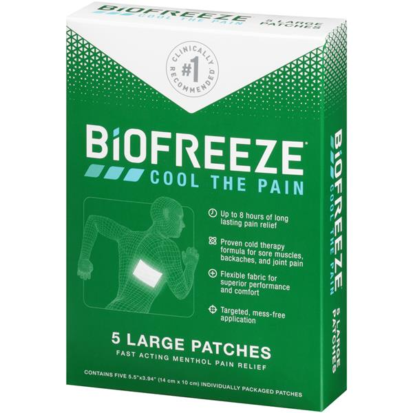 Biofreeze Pain Relief Large Patches