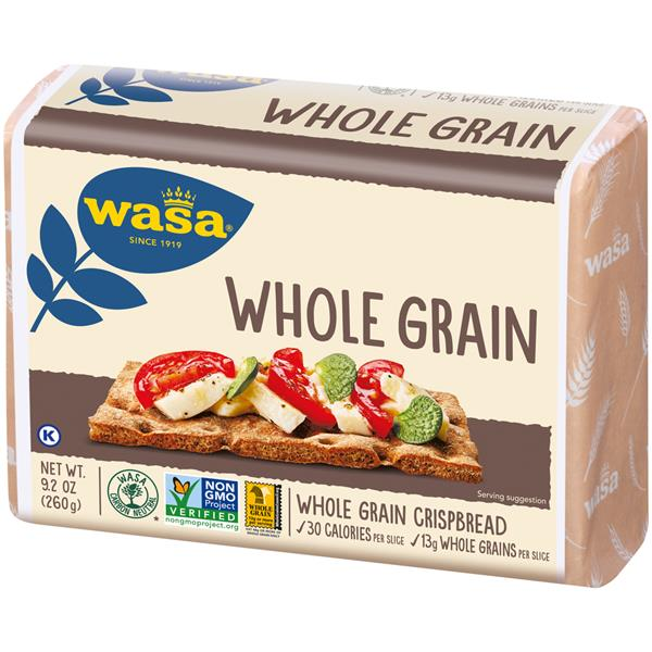 Wasa Whole Grain Crispbread 9.2 oz. Pack