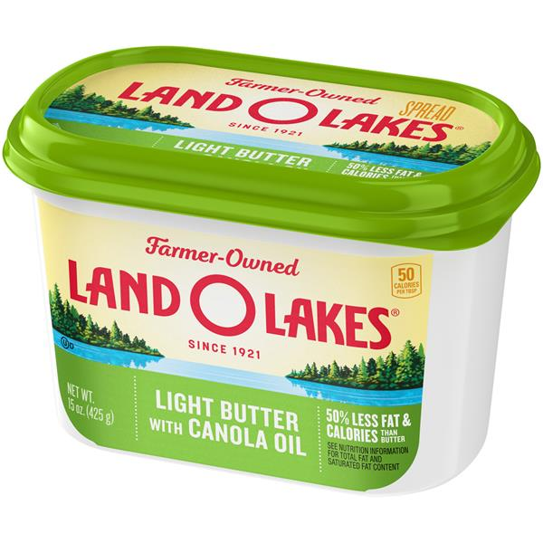 Land O' Lakes Spreadable Light Butter with Canola Oil