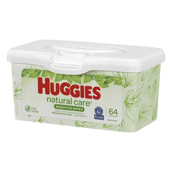 Huggies Natural Care Wipes Fragrance Free
