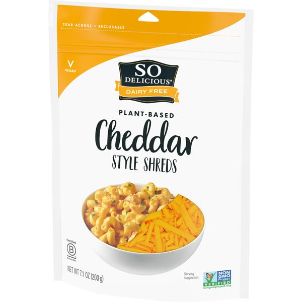 So Delicious Dairy Free Cheddar Style Shreds