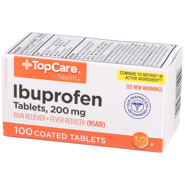 TopCare Ibuprofen 200mg Tablets