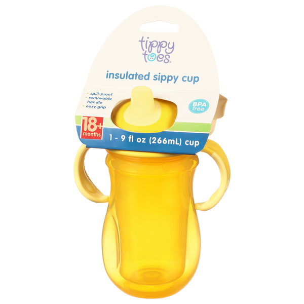 Tippy Toes Insulated Sippy Cup 18M+