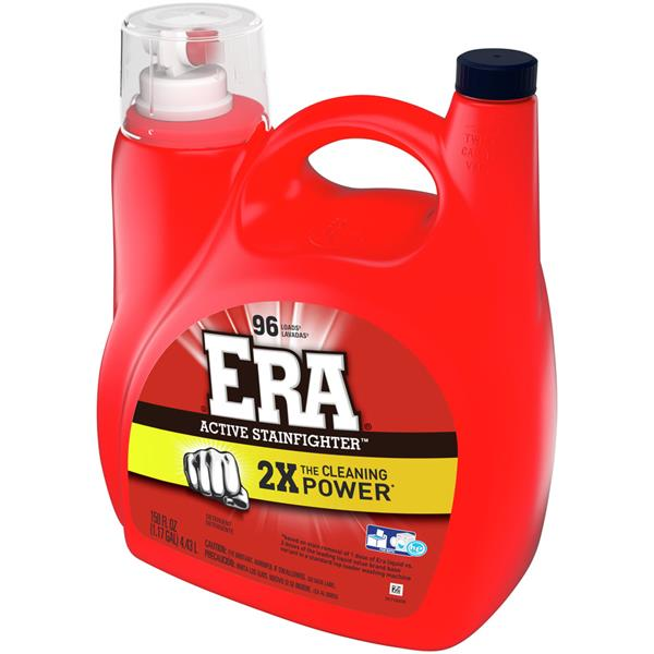 Era 2X Cleaning Power Active Stainfighter Liquid Laundry Detergent 96 Loads