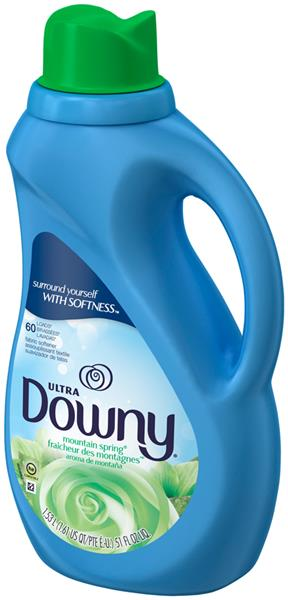 Ultra Downy Mountain Spring Liquid Fabric Conditioner