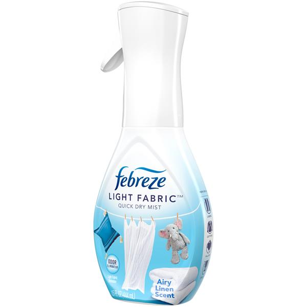 Febreze Light Fabric Refresher, Airy Linen Scent