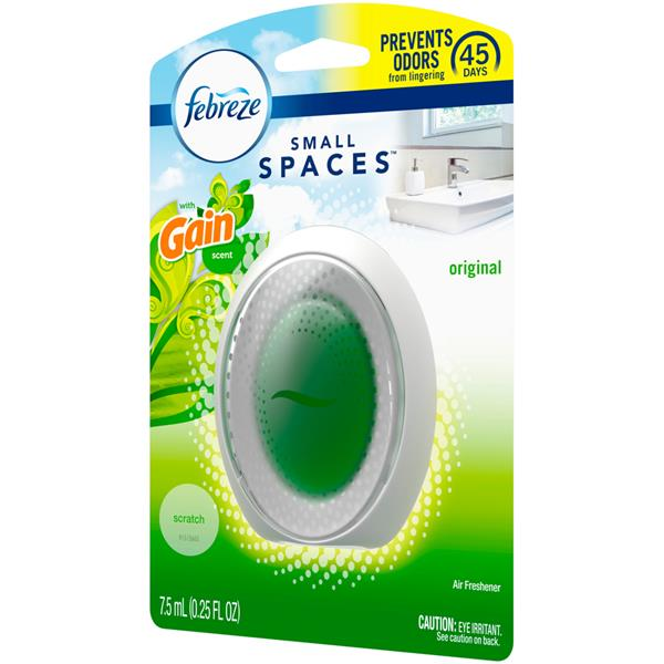 Febreze Small Spaces Air Freshener with Gain Scent, Original