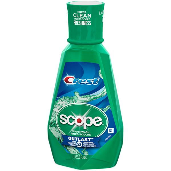 Crest Scope Outlast Mouthwash