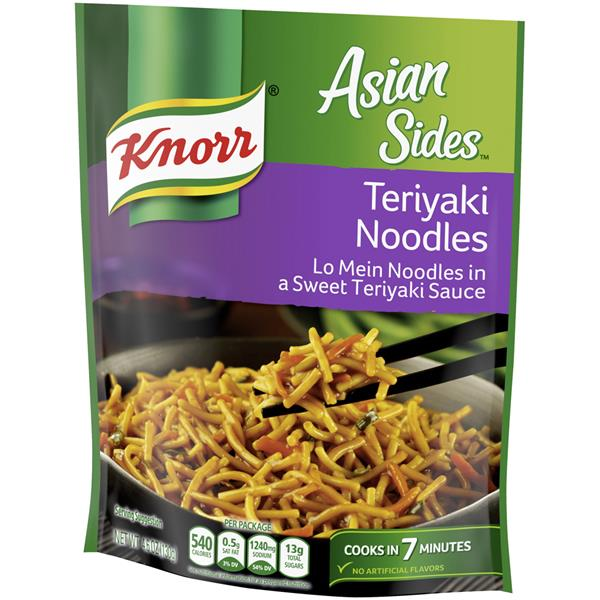 Knorr Asian Sides Teriyaki Noodles