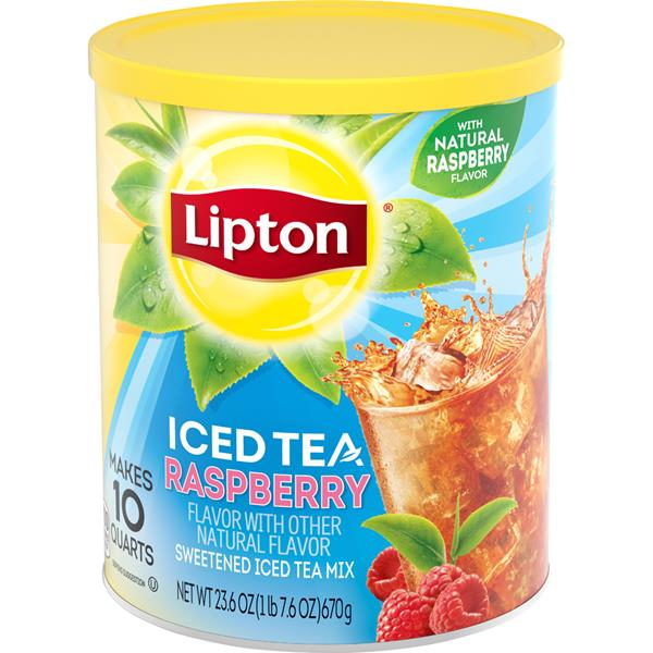 Lipton Iced Tea Raspberry Powder