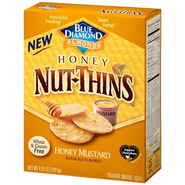 Blue Diamond Honey Mustard Honey Nut-Thins