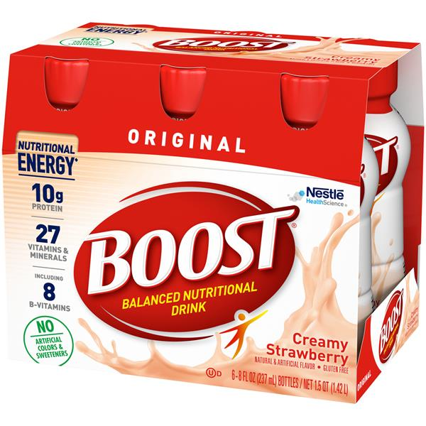 Boost Original Strawberry Bliss Complete Nutrition Drink