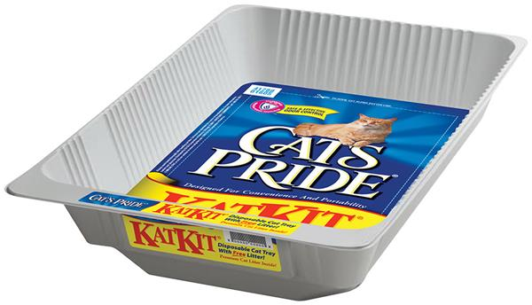 Cat's Pride Kat Kit Cat Litter Disposable Tray