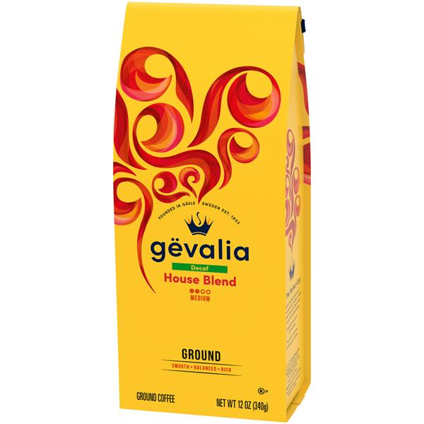 Gevalia Decaf House Blend Ground Coffee
