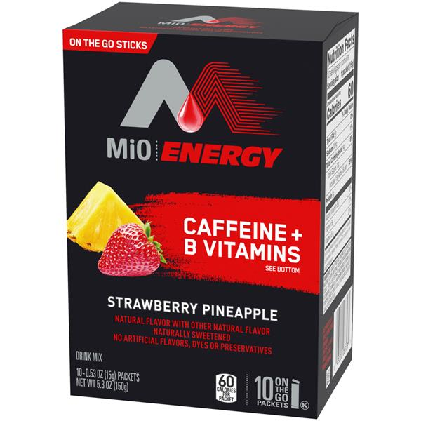 MiO Energy Strawberry Pineapple On The Go Drink Mix 10 - .53 oz Packets