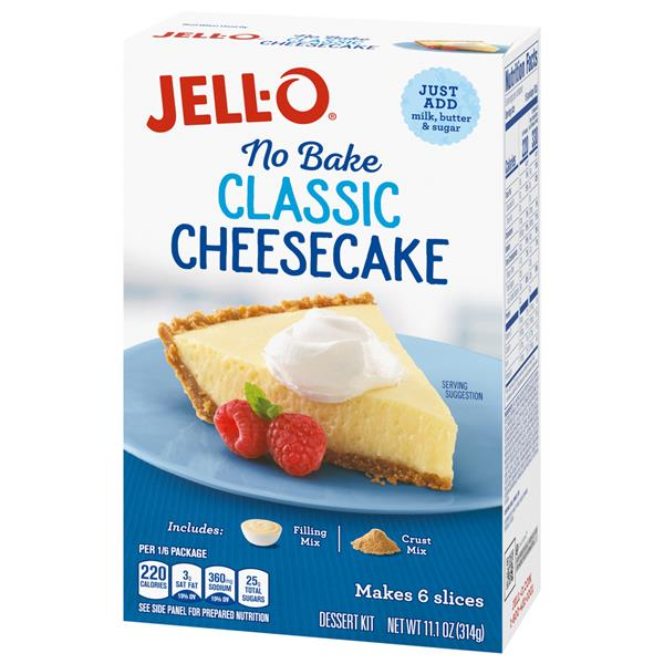 Jell-O No Bake Real Cheesecake Dessert Mix