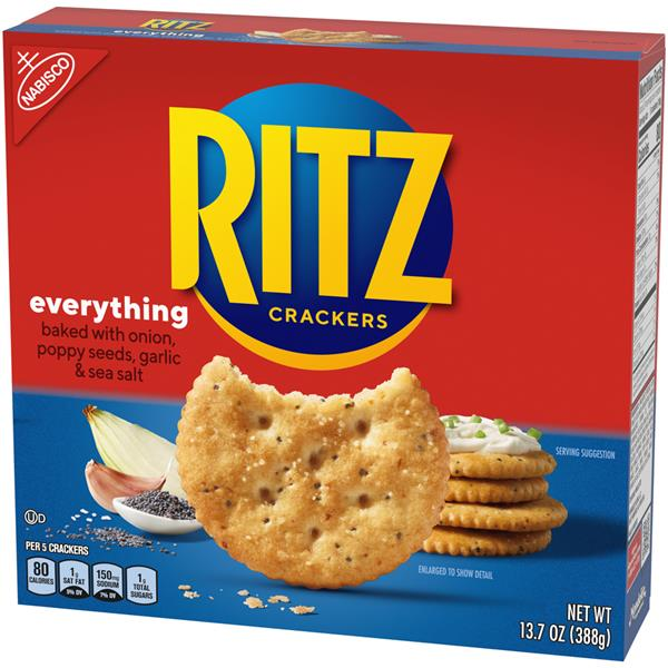 Nabisco Ritz Everything Crackers