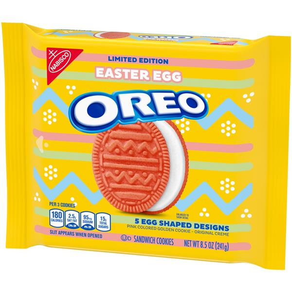 Nabisco Oreo Easter Egg Sandwich Cookies