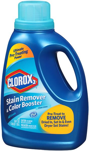 Clorox 2 Clean Linen Stain Remover & Color Booster